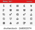 money icons. professional ... | Shutterstock .eps vector #268002074