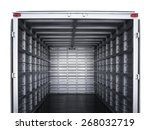 trailer interior | Shutterstock . vector #268032719