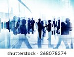 handshake partnership agreement ... | Shutterstock . vector #268078274