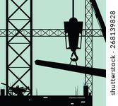 construction place vector...   Shutterstock .eps vector #268139828
