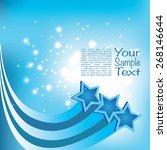 stars background | Shutterstock .eps vector #268146644