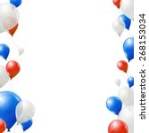 Blue  Red And White Balloons O...