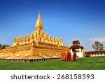 Wat Phra That Luang  Vientiane  ...