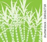 sugar cane  | Shutterstock .eps vector #268162718