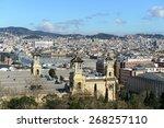 barcelona spain    march 26 ... | Shutterstock . vector #268257110