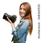 Young Female Photographer...