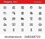 Shopping Icons. Professional ...