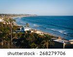 View Of The Pacific Coast  In...