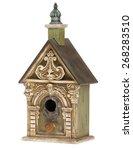 bird house ornate | Shutterstock . vector #268283510