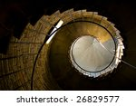 Spiral Stairs Tower Abstract...