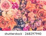 Vintage Flower Background  ...