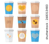 coffee cup | Shutterstock .eps vector #268313483