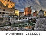 ljubljana  capitol of  slovenia | Shutterstock . vector #26833279