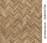 repeating parquet texture | Shutterstock . vector #268342706
