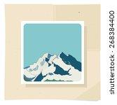 the mountains. mountain... | Shutterstock .eps vector #268384400