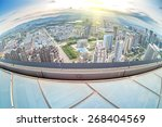 the chinese city of nanchang ... | Shutterstock . vector #268404569