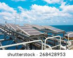 solar energy is a green power ... | Shutterstock . vector #268428953