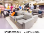 store blur background with... | Shutterstock . vector #268438208