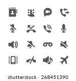 phone calls    apps interface | Shutterstock .eps vector #268451390