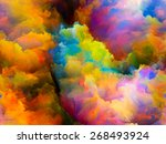 dynamic color series. backdrop... | Shutterstock . vector #268493924
