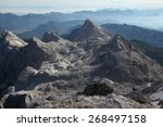 view from the summit of mount... | Shutterstock . vector #268497158