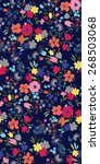 Seamless Flower Pattern...