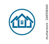home vector symbol  can be used ... | Shutterstock .eps vector #268508360