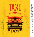 typographic graffiti retro...   Shutterstock .eps vector #268509770