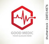 Medical Design Logo Template...