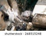 metalworking industry  close up ... | Shutterstock . vector #268515248