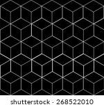 geometric  seamless  simple ... | Shutterstock .eps vector #268522010