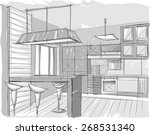 Architectural Sketch Of Home...