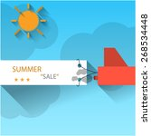 'summer sale' conceptual...