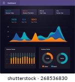 detail info graphic vector...   Shutterstock .eps vector #268536830