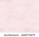 Pink Watercolor Chevron...
