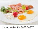 breakfast    Shutterstock . vector #268584773
