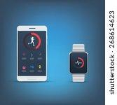 fitness tracker application...