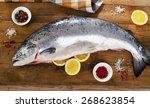 Atlantic Salmon  With Lemon On...