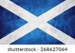 flag of scotland or scottish...