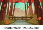 cartoon illustration of the... | Shutterstock .eps vector #268652600