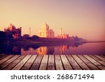 Taj Mahal India Seven Wonders...