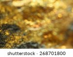 Background With Shiny Yellow...