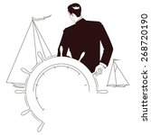vector stock illustration....   Shutterstock .eps vector #268720190