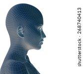 concept or conceptual 3d...   Shutterstock . vector #268740413