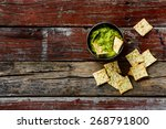 Homemade Guacamole Dip With...