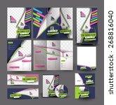 dance academy business... | Shutterstock .eps vector #268816040