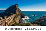 bridge trail to point bonita... | Shutterstock . vector #268824773