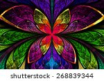 Multicolored Symmetrical...