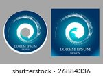 disk design template. vector... | Shutterstock .eps vector #26884336