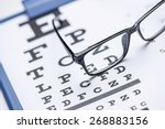 Reading Glasses With Eye Chart...